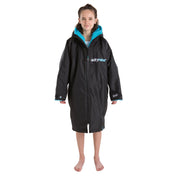 Dryrobe Long Sleeve Change Robe - Black/Blue