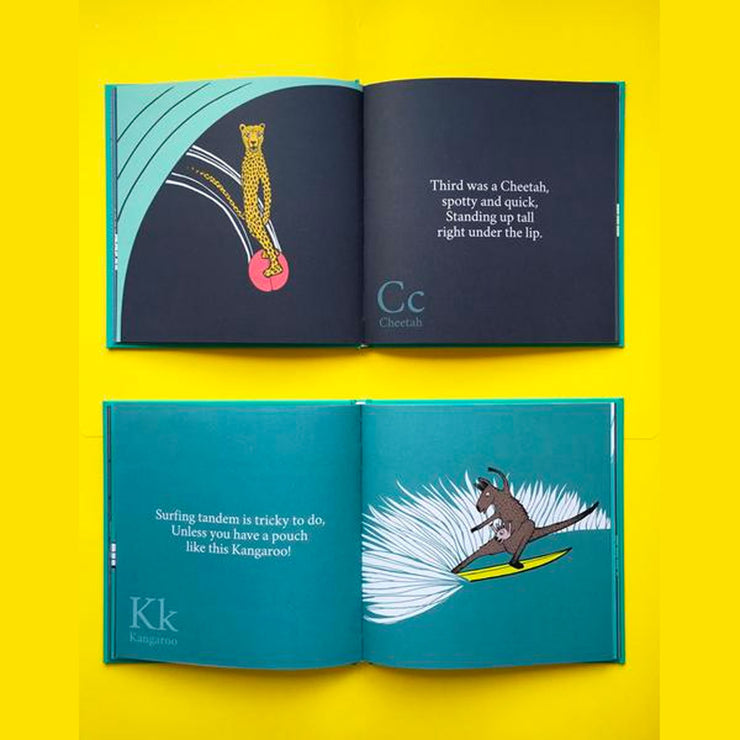 The Surfing Animals Alphabet Book
