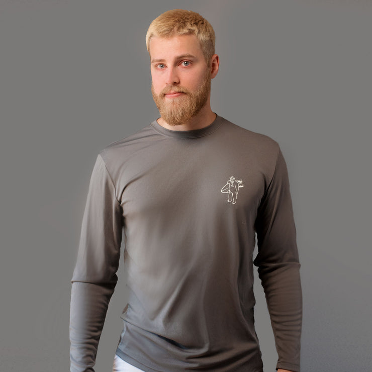 STG Shreddie LS Rash Guard - Silver