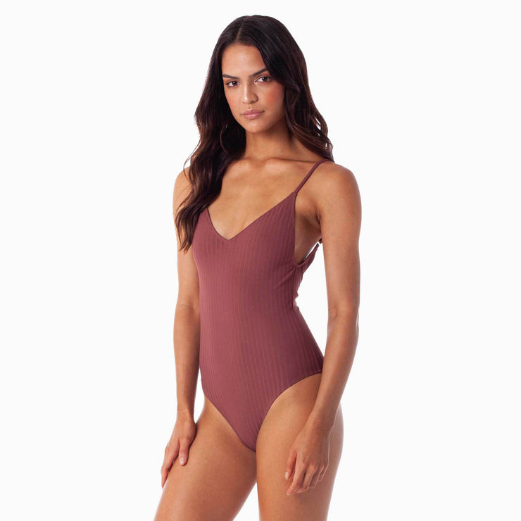 Rhythm Tulum One-Piece - Carob
