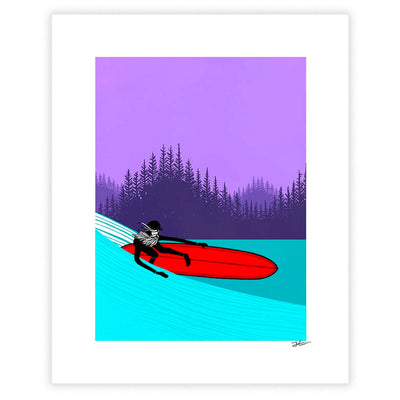 Up North Part 3 Art Print