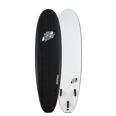 PRE-ORDER FOR OCTOBER - Catch Surf Wave Bandit 7' EZ Rider - White/Black