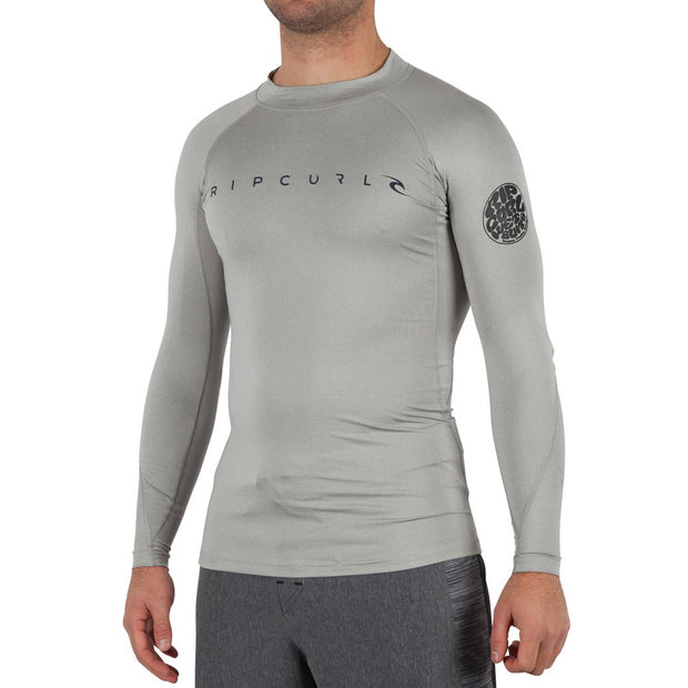 Rip Curl Dawn Patrol UV Tee L/S - Grey - Performance Fit