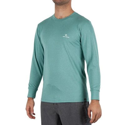 Rip Curl Search Series Rashguard - Aqua