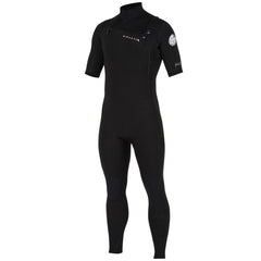 Rip Curl Aggrolite 2/2 Short Sleeve - Long Leg Wetsuit - Black