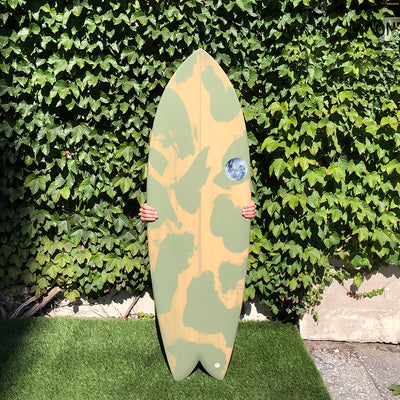 Wax Surf Co. 5'8 Quad Fish