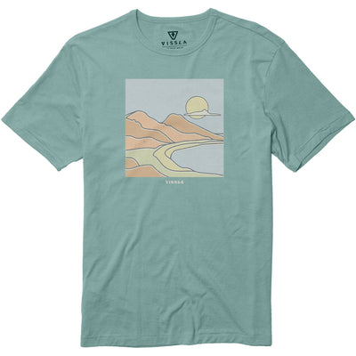 Vissla Real Fun Wow Tee - Jade