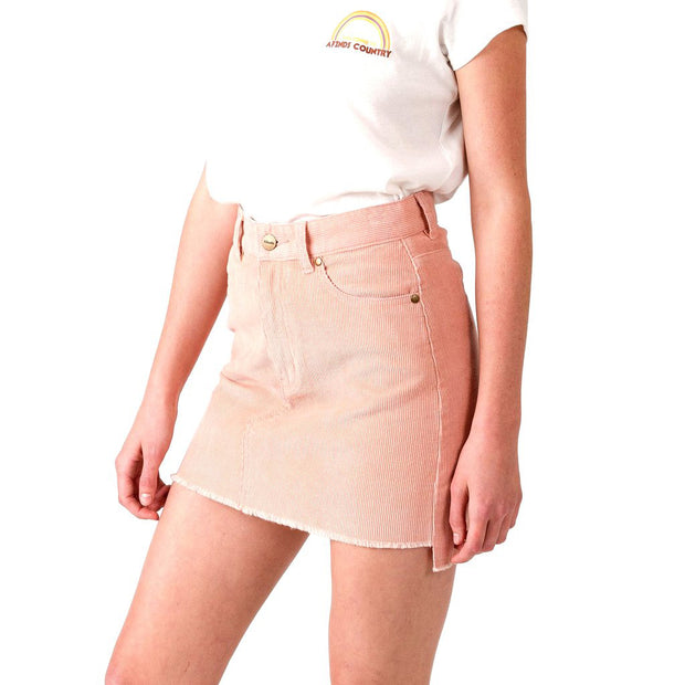 Afends Schouler Skirt - Washed Peach