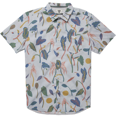 Vissla Weird Weeds Boys Eco Woven - Clear Blue