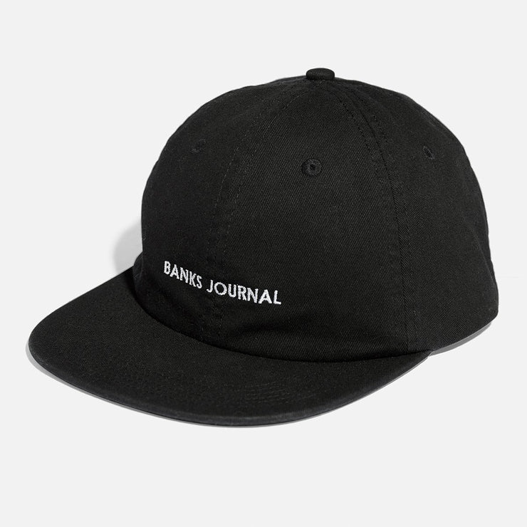 Banks Journal Label Hat - Dirty Black