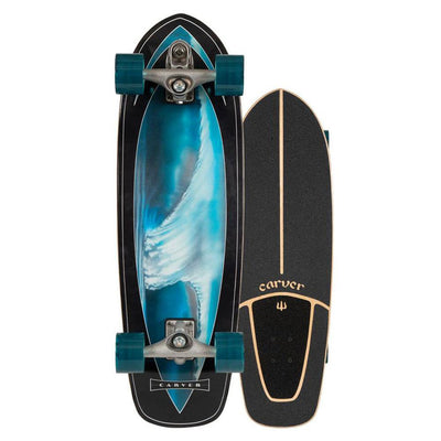 Carver C7 Raw Super Surfer Surfskate - 32""