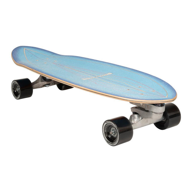 Carver C7 Raw Blue Haze Surfskate - 31""