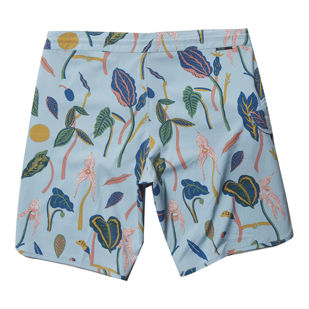 "Vissla Weird Weeds 20"" Boardshort - Clear Blue"