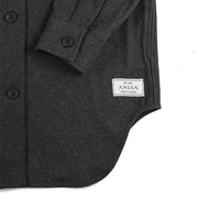Anián Women's Twill Painter's Coat - Charcoal
