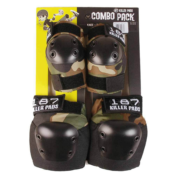 187 Killer Pads Camo - Combo Pack