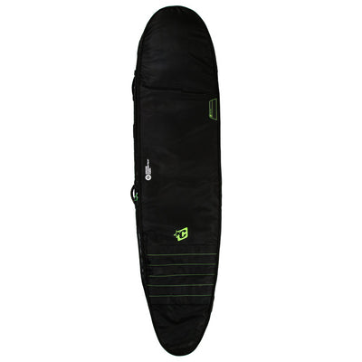 Creatures of Leisure Longboard Double Boardbag - Black Lime