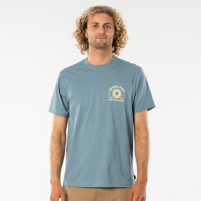 Rip Curl Suns Out Tee - Mid Blue