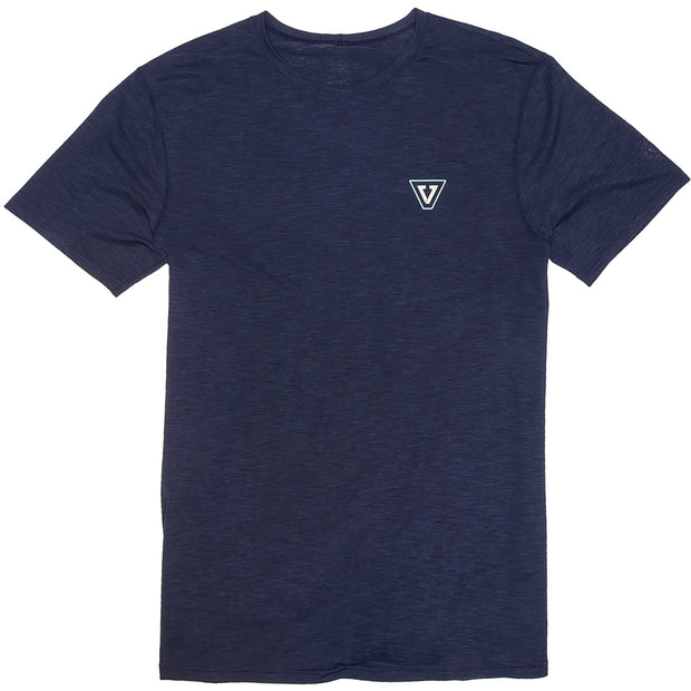 Vissla Alltime SS Surf Tee - Naval Heather