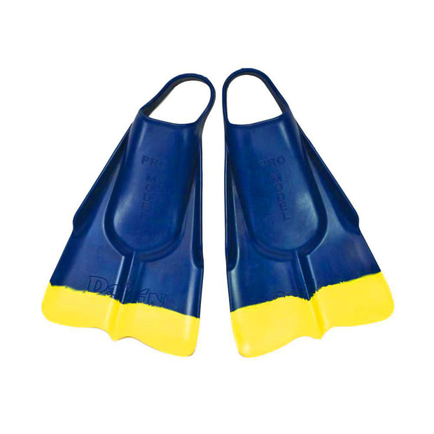 DaFin Swim Fins - Navy/Yellow