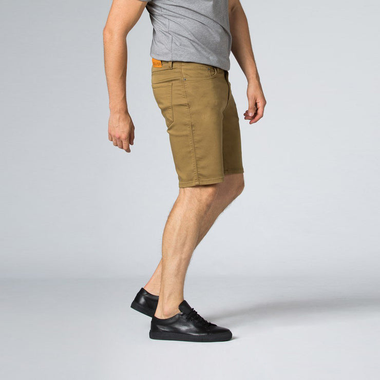 DUER No Sweat Short Slim - Tobacco