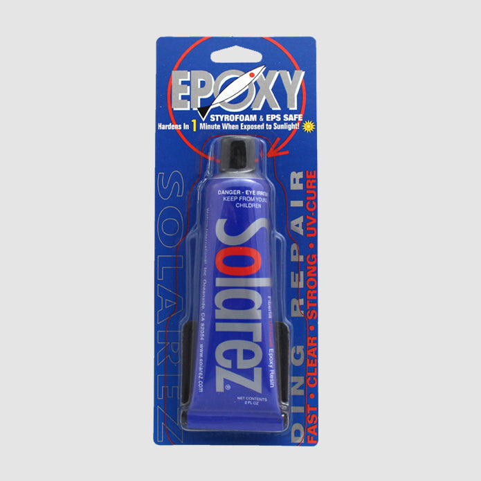 Solarez Epoxy Ding Repair 2.0oz Tube (EPS Safe)