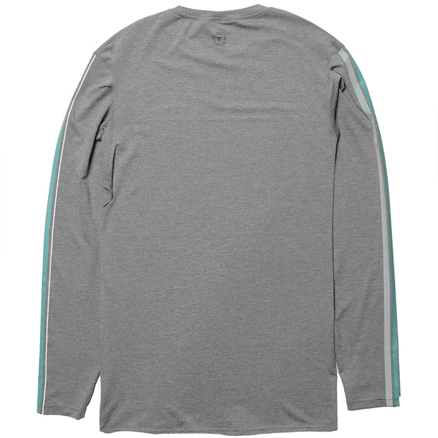 Vissla The Trip LS Surf Tee- Grey Heather