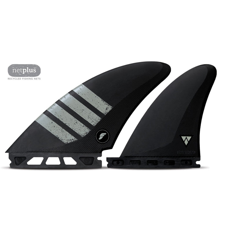 Futures Controller Quad Alpha Fins - Grey