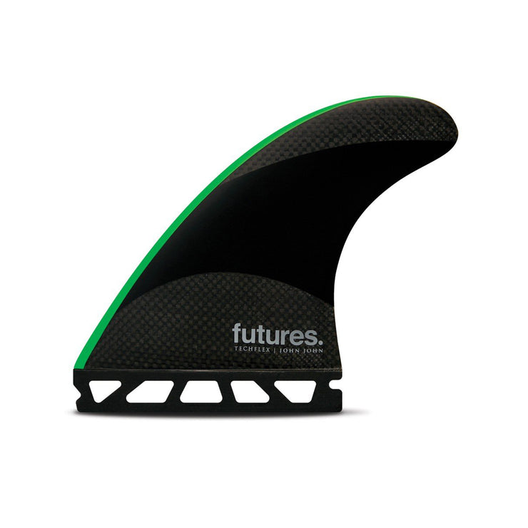 Futures JJF Techflex Thruster - Black/Neon Green - Medium