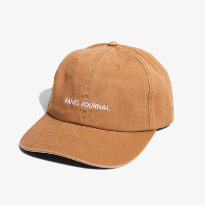 Banks Journal Label Hat - Beige