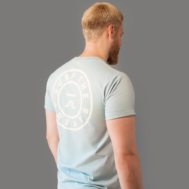 STG Shreddie Premium Tee - Pale Blue