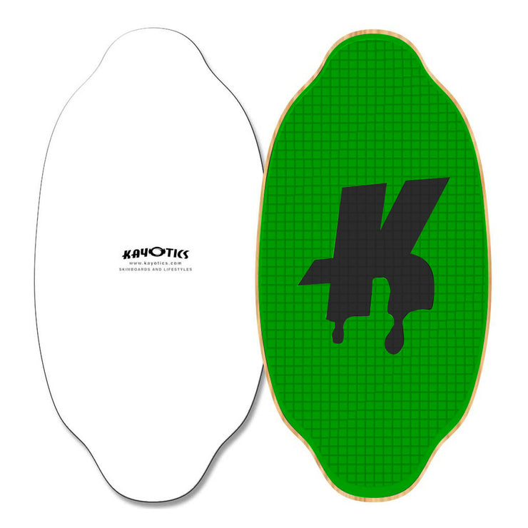 Kayotics Classic Series Skimboard - Green Limelight