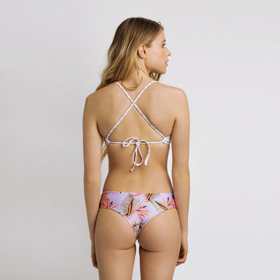 June Manue Reversible Bikini Bottom - Fiesta/ Sparkles