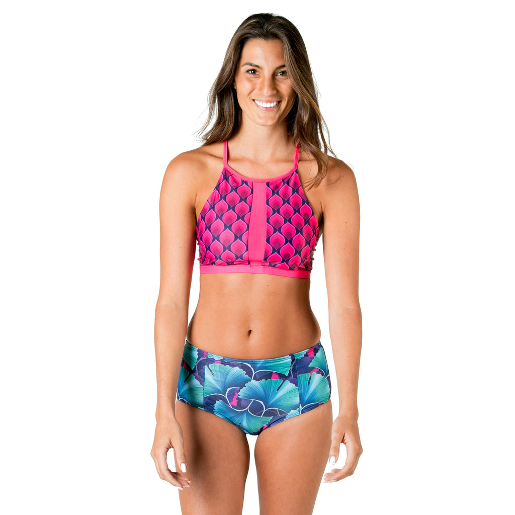 Mona Ali Top Swimsuit - Ginko Drops
