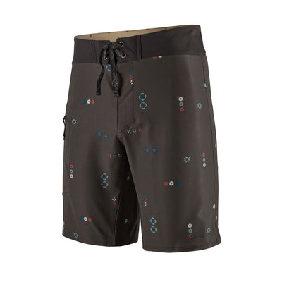 "Patagonia Men's Stretch Planing Boardshorts - 19"" - Micro Mixture Ink Black"