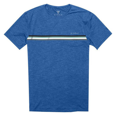 Vissla The Trip SS Surf Tee - Royal Heather