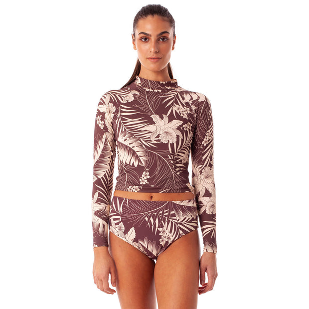 Rhythm Mahina LS Surf Top