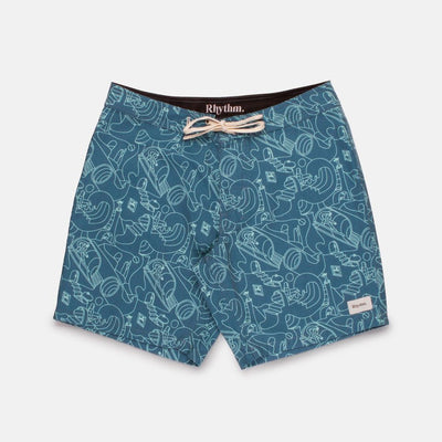 Rhythm So Pitted Trunk - Sea Blue