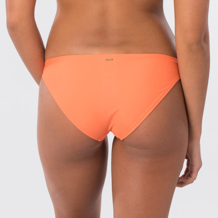 Rip Curl Classic Surf Eco Full Bikini Bottom - Bright Orange