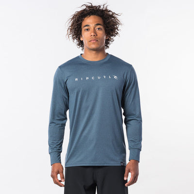 Rip Curl Dawn Patrol UV Tee L/S - Loose Fit - Blue