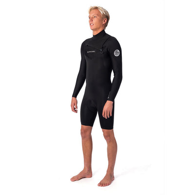 Rip Curl Dawn Patrol 2mm Long Sleeve Spring Suit - Chest-Zip