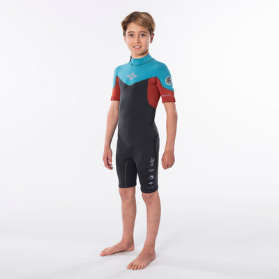 Rip Curl 2mm Jr. Dawn Patrol Spring Suit - Blue