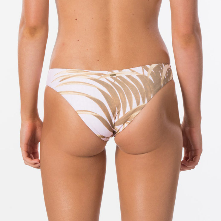 Rip Curl Paradise Cove Reversible Cheeky Bikini Bottom - Lilac