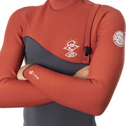 Rip Curl E-Bomb Zip Free Long Sleeve 2/2 Spring Suit - Terracotta
