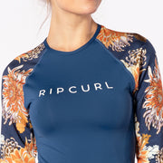 Rip Curl Sunsetters Relaxed Long Sleeved Rash Guard