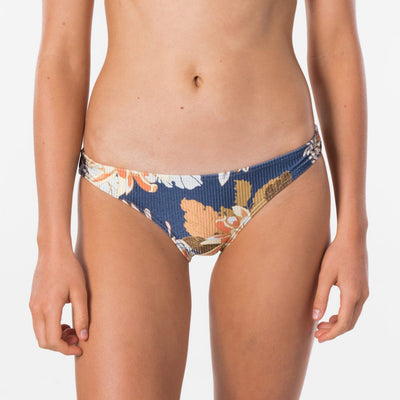 Rip Curl Sunsetters Full Coverage Bikini Pant - Dark Blue