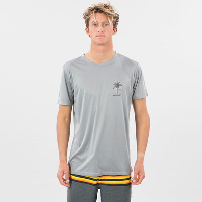 Rip Curl Black Hole UVT Shirt - Light Grey