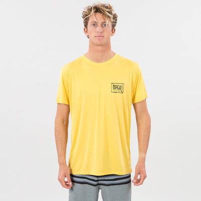 Rip Curl Native UVT S/S - Yellow