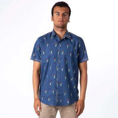 Rip Curl Vacation Woven Shirt - Navy