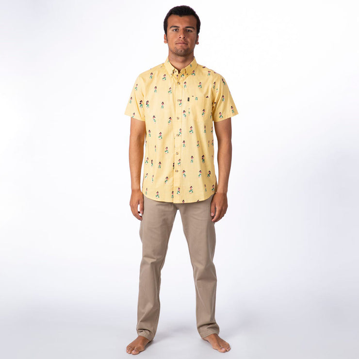 Rip Curl Vacation Woven Shirt - Washed Yellow