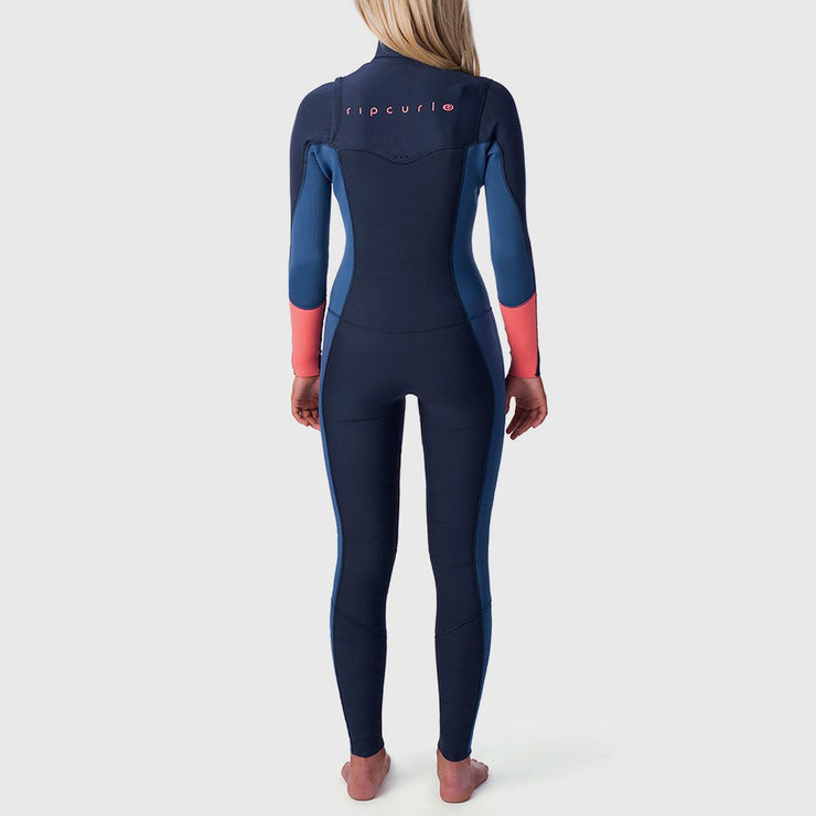 Rip Curl Women's Dawn Patrol 3/2 Chest Zip - Stealth